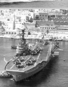 HMS Centaur.