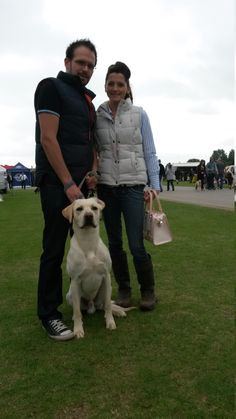 Showing 'Dubes' look great with jeans! Here's Roxann and Russ from Tetney with their beautiful retriever. Roxann's Dubarry boots, combined with skinny-fit denim, a quilted gilet and a cute handbag, are a great choice for those 'smart-casual' occasions. Dubarry Boots, Versace Handbags, Cute Handbags, Good Old, Smart Casual, Skinny Fit, Leather Handbags, Looks Great, Labrador Retriever