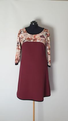 Kjole str. 42 Handmade Dresses, Cold Shoulder Dress, Fashion, Moda, Fashion Styles, Fashion Illustrations, Handmade Clothes