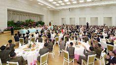 조선로동당 중앙위원회에서 지상대지상중장거리전략탄도로케트 《화성-12》형개발자들을 위한 축하연회 마련
