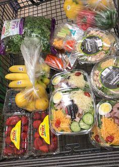 Healthy Fridge, Healthy Meal Prep, Healthy Snacks, Healthy Eating, Healthy Recipes, Snacks Saludables, Good Food, Yummy Food, Healthy Groceries