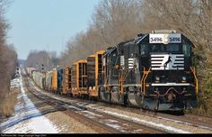 RailPictures.Net Photo: NS 3496 Norfolk Southern EMD SD40-2 at Eubank, Kentucky by Gage ODell