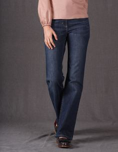 Bootcut Jeans WC116 Jeans at Boden #bodenchristmaswishlist