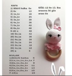 2019 All Best Amigurumi Crochet Patterns - Amigurumi Free Pattern The most admired amigurumi crochet toy models in 2019 are waiting for you in this article. The most beautiful amigurumi toy patterns are all on this site.Baby crochet teethers and pacifiers Doll Amigurumi Free Pattern, Amigurumi Tutorial, Crochet Doll Pattern, Crochet Dolls, Amigurumi Doll, Crochet Baby Toys, Crochet Bunny, Crochet Animals, Crochet Mushroom