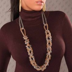 10 Bonitos Collares de moda largos (12)