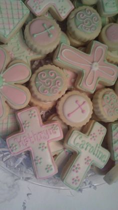 Adorable Creations by Dori: First Communion Cookies
