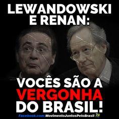 Brasil-Dilma Rousseff (Impeachment)-2016-Frase-Lewandowski e Renan, vocês são a...