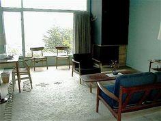 Retro modern vintage interiors