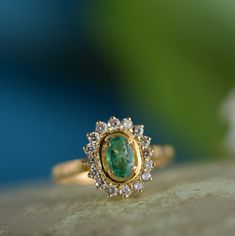We just wanted to remind all our customers, that we also make unique engagement and wedding rings. The one of a kind Emerald Diamond Gold Love Ring, is a perfect engagement ring. We can also tailor make rings for customers, so you can contact us to discuss special requirements or designs. We love making rings for that magical moment, when you decide to get engaged. Emerald Ring Vintage, Emerald Wedding Rings, Emerald Diamond, Diamond Rings, Emerald Cut, Solitaire Ring, Gold Wedding, Gold Rings, Green Engagement Rings