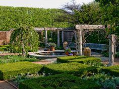 English Walled Garden at Chicago Botanic