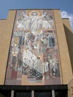 Touchdown Jesus at the University of Notre Dame (Joe Cruz photo)