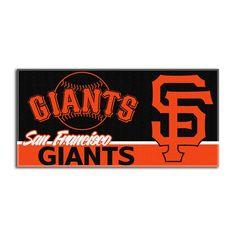 San Francisco Giants MLB Fiber Reactive Beach Towel (28in x 58in)