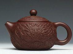 dragon teapot Chinese GongFu TeaPot YiXing  zisha by Chinateaware, $75.00