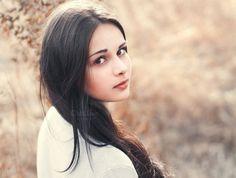 portrait of a beautiful brunette by Aleshyn Andrei on Creative Market