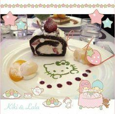 一週間頑張ったごほうびに、キティちゃんカフェでほっとひと休みしよう♡  おいしさとかわいさで一気に癒されそうですね♡   Treat yourself with some cute sweets after a hard week at Hello Kitty cafe ♡  What kind of sweets do you like?   Photo taken by NunoumLoveking on Kawaii★Cam    Join Kawaii★Cam now :)   For iOS: