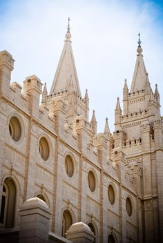 Salt Lake City Temple - breathtaking.  This is what life is all about