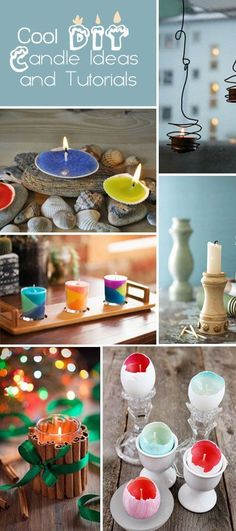 Cool DIY Candle Ideas and Tutorials. Surprise your love with a romantic and creative candle atmosphere!