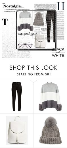 """early winter"" by pamelagraf on Polyvore featuring Yves Saint Laurent, MANGO, Everlane and Eugenia Kim"