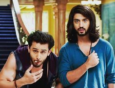 EverGreen Nqughtiest Couple #ishqbaaaz #OmRu #cuties #omkara #rudra #buddies  #kunaljailsingh *hottie* #leeneshmattoo *cutie* @leenesh_mattoo @kunaljaisingh @lashiya.mattoo
