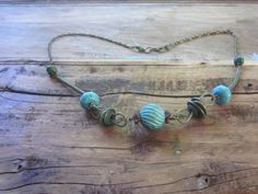 When Rustic meets Industrial Turquoise Coconut by elementsinspired, $45.00