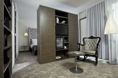 Junior Suite Design Hotel, Berlin Hotel, Hotels, Guest Room, Tall Cabinet Storage, Conditioning, Exploring, Cable, Popular