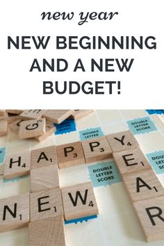 """New Year, New Beginning and a New Budget! Set yourself up for a """"budget win"""" With these budgeting tips. Budget together as a family. Set new budget goals"""