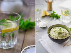 Mint and Feta Cream