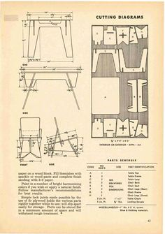 Handy Man's Plywood Projects - Fawcett Publicat... Cardboard Furniture, Modular Furniture, Furniture Plans, Diy Furniture, Nomadic Furniture, Bauhaus Furniture, Plywood Projects, Router Projects, Woodworking Plans