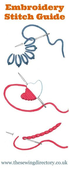 Want to learn embroidering? Join in the 7 days of stitches and get started with the 7 basic stitches!