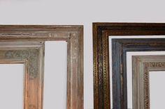 Exposición de distintas  decoraciones de marcos