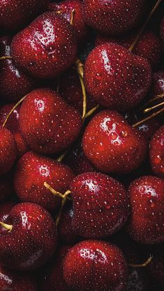 Cherry Wallpaper HD phone # Food # Beauty # saver # wallpaper # - New Ideas Red Wallpaper, Cute Wallpaper Backgrounds, Colorful Wallpaper, Aesthetic Iphone Wallpaper, Flower Wallpaper, Mobile Wallpaper, Aesthetic Wallpapers, Hd Phone Backgrounds, Screen Wallpaper