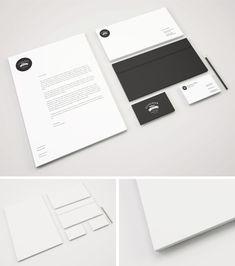 14 Mockups gratis de papelería para imagen corporativa