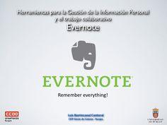 tutorial-evernote by Luis Barriocanal via Slideshare