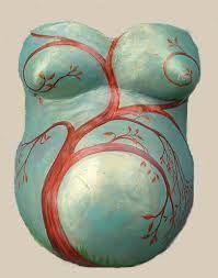 Bildergebnis für pregnant belly plaster