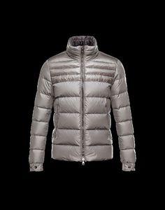 Moncler Herren Anorak, outlet Moncler Herren DINANT Anorak Grau Polyester Jacket