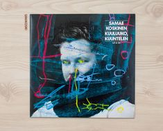 Samae Koskinen: Kuuluuko, kuuntelen // Cover Art by Aki-Pekka Sinikoski Helsinki, Finland, Cover Art