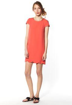 Rolls Dress corail Claudie Pierlot
