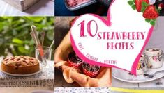 10 Strawberry Recipes for Valentine's Day Eggless Chocolate Mousse Recipe, Strawberry Recipes, Valentines Day, Place Card Holders, Quick Dessert, Desserts, Box, Valentine's Day Diy, Tailgate Desserts