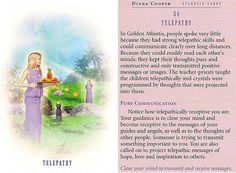 Today's Atlantis Card – Diana Cooper Diana Cooper, Divination Cards, Tarot Cards, Angel Guide, Daily Tarot, Doreen Virtue, Angel Cards, Angels In Heaven, God Prayer