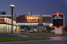 Red Lion Elko - Nevada.  One of the largest hotels in town, it is also one of the largest casinos.