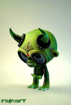 Chaos Munky - Chaos Monkey - Toy Art