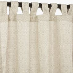 Pawleys Island Hammocks Linen Silver Sunbrella outdoor curtain with tabs 120 long > Length: 120 in. Color: Beige Width: 50 in. Check more at http://farmgardensuperstore.com/product/pawleys-island-hammocks-linen-silver-sunbrella-outdoor-curtain-with-tabs-120-long/
