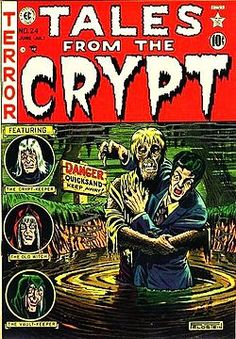 Still remains one of the best horror comic book series' ever written.