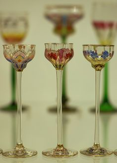 Fine Dining | Jugendstil glass