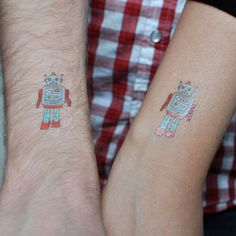 Tattly 'Designy Temporary Tattoos' ..just awesome. Brings me back to 2nd grade ..except these aren't pink, sparkly, or have anything to do with Disney princesses.