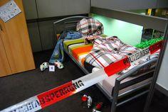 Sprayer-Tatort Jugendzimmer