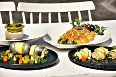 Η σύνθεσή της είναι απλή όσο και ευρηματική. Συνδυάζει σπιτική μαγιονέζα, ενισχυμένη με λαχανικά, και βραστό ψάρι. Cobb Salad, Sushi, I Am Awesome, Ethnic Recipes, Food, Kitchens, Essen, Meals, Yemek