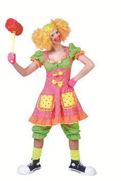 Festivalshop - Clown Dame Fluo - 0