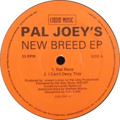 Pal Joey's - New Breed EP
