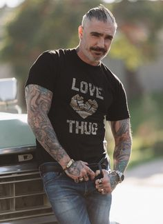 Sheehan & Co. Love Thug Tee